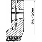 Узлы и детали проточной части турбин: Диафрагмы регулирующие фото