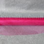 Органза малиновая 35 см / 10 ярд 3948 фото