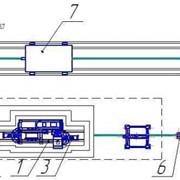 Автоматизированная маневровая система передвижения ж/д вагонов фото