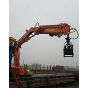 Краноманипуляторная установка (кран-манипулятор) КМУ-180 фото