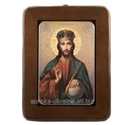 Картина Спаситель в короне REL3_4 фото