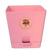 Горшок д/цветов с поддоном LE PARTERRE d=12-1л (розовый) фото