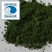 Хрома окись 3 пигментная, хромовая зелень, оксид хрома 3, окись хрома техническая. Марка / Сорт ОХП-1. Мешок фото