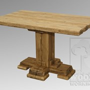 Стол обеденный МС-02.001 (750*750*1250мм) фото