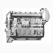 Ремонт дизеля 6ЧН 21/21 марки 211Д-3, шестицилиндровый четырёхтактный с рядным распылением цилиндров двигатель, газотурбинным наддувом и охлаждением наддувочного воздуха. фото