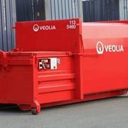Сбор и вывоз отходов с применением пресс-компактора фото