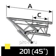 2-х сторонний угловой блок с углом 45 гр. 6,9кг К3-390OG-201Х фото