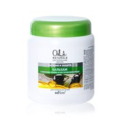 Бальзам для волос с маслами оливы и косточек винограда Питание и Защита, линия Oil Naturals фото