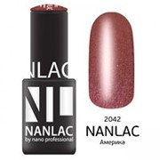 Nano Professional Nano Professional Гель-лак 2042 Америка (Nanlac / Хамелеон) 001319 6 мл фото