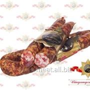 Колбаса От бабушки сыровяленая салями высшего сорта фото