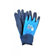 Нейлоновые рабочие перчатки с двойным латексным покрытием фото