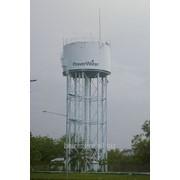 Водонапорная башня 195 м.куб, по индивидуальному проекту фото