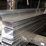 Шина алюминиевая полоса 6х60х3000 мм АД31 твёрдая и мягкая фото