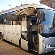 Заказ автобуса для перевозки фото