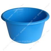 Таз полиэтиленовый не пищевой 5л цветной круглый №438410 фото