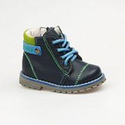 Ботинки Котофей арт.052111-21 (Цвет: Синий, Размер: 20) фото