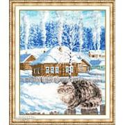 Набор для вышивания Была зима фото