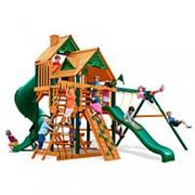 Детская площадка Горец (630х570х410см) фото