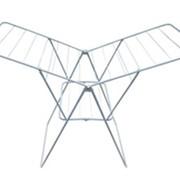 Сушилка для белья Волжаночка СН-311 напольная БАБОЧКА 13 м (серебристый металл) фото