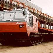 Модернизированный двухзвенный гусеничный транспортер ДТ-30МН фото