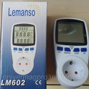 Портативный электросчетчик Lemanso LM602 / LM669 фото