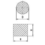 Шнуры резиновые круглого сечения с диаметром сечения от 4,0 до 60,0 мм по ГОСТ 6467-79. фото