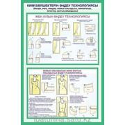 Плакат Технология обработки деталей одежды В.11 фото
