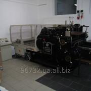 Б/у Высечное оборудование, оборудование для тиснения фольгой, Киев фото