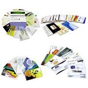 Бумажные визитки фото
