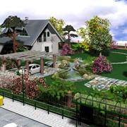 Ландшафтный дизайн и облагораживание участка. фото