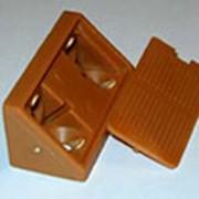 Уголок монтажный пластиковый (двойной) фото