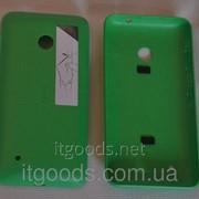 Крышка задняя зеленая для Nokia Lumia 530 3121 фото
