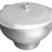 Казан кухонно-печной округлой формы 6 л. фото