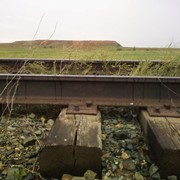 Железнодорожные рельсы б/у Р-50, Р-65 фото