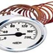 Термометр d60мм, 300˚С, капиляр 2м фото