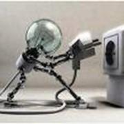 Монтаж и подключение электрооборудования на производстве. фото