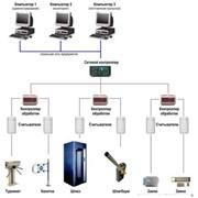 Установка системы контроля и управления доступом (СКУД) фото