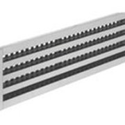 Решетки щелевые без регулятора, с направляющими жалюзи РЩ-3 ж 127х900 фото