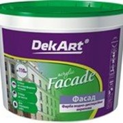 Краска фасадная «Facade» TM DekArt фото