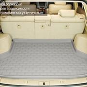 Коврик багажника BMW 5 E60 3D Kagu борт. Серый фото