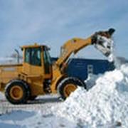 Уборка и вывоз снега. фото