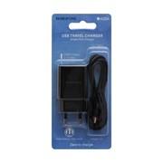 СЗУ BOROFONE BA20A 5V\2,1A 1USB sharp single port + Micro cable, black фото