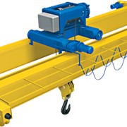 Кран мостовой электрический однобалочный подвесной фото