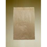 Пакет однотонный бумажный 18х29 фото