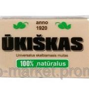 Хозяйственное мыло Ukiskas 72% в полипропилене, 125 гр. фото