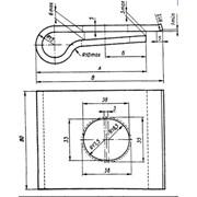 Клеммы стыковые (Транспорт / Железнодорожные комплектующие и запчасти / Оборудование и комплектующие верхнего строения пути / Скрепления рельсовые) фото