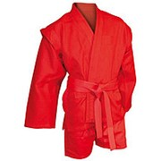 AX5, Куртка для самбо елочка красная, Р: 52/180 фото