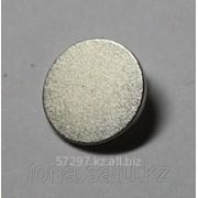 Неодимовый магнит: диск 8х1мм 10шт. в упаковке фото