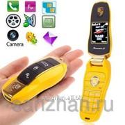 Телефон Porsche F9 чёрный,красный,желтый 86323 фото
