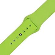 Силиконовый ремешок для часов Apple Watch 42mm (Green) фото
